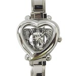 31035 Heart Italian Charm Watch