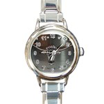 BuckleA139 Round Italian Charm Watch