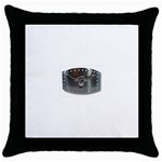 BuckleA139 Throw Pillow Case (Black)