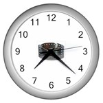 BuckleA139 Wall Clock (Silver)
