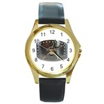 BuckleA139 Round Gold Metal Watch