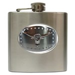 BuckleA139 Hip Flask (6 oz)