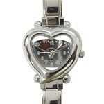 BuckleA139 Heart Italian Charm Watch
