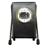 BuckleA139 Pen Holder Desk Clock