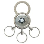 BuckleA270 3-Ring Key Chain
