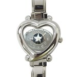 BuckleA270 Heart Italian Charm Watch