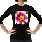 wallpaper_19674 Women s Long Sleeve Dark T-Shirt