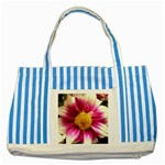 wallpaper_19674 Striped Blue Tote Bag