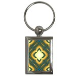 Subway_sign Key Chain (Rectangle)