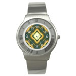 Subway_sign Stainless Steel Watch