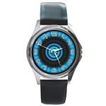 KaleidoFlower-208768 Round Metal Watch