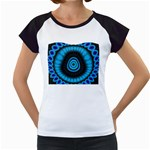 KaleidoFlower-208768 Women s Cap Sleeve T