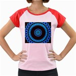 KaleidoFlower-208768 Women s Cap Sleeve T-Shirt