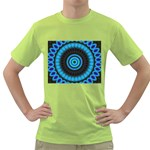 KaleidoFlower-208768 Green T-Shirt