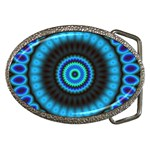 KaleidoFlower-208768 Belt Buckle