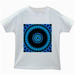 KaleidoFlower-208768 Kids White T-Shirt