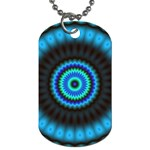 KaleidoFlower-208768 Dog Tag (One Side)