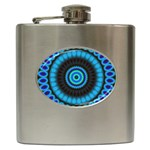 KaleidoFlower-208768 Hip Flask (6 oz)