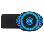 KaleidoFlower-208768 USB Flash Drive Oval (2 GB)