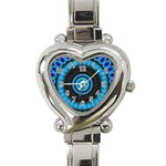 KaleidoFlower-208768 Heart Italian Charm Watch