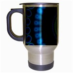 KaleidoFlower-208768 Travel Mug (Silver Gray)