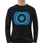 KaleidoFlower-208768 Long Sleeve Dark T-Shirt