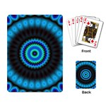 KaleidoFlower-208768 Playing Cards Single Design