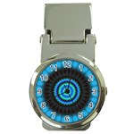 KaleidoFlower-208768 Money Clip Watch