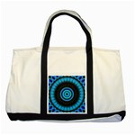 KaleidoFlower-208768 Two Tone Tote Bag