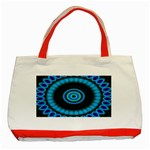 KaleidoFlower-208768 Classic Tote Bag (Red)