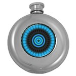 KaleidoFlower-208768 Hip Flask (5 oz)