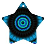 KaleidoFlower-208768 Star Ornament (Two Sides)