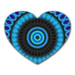 KaleidoFlower-208768 Mousepad (Heart)