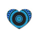KaleidoFlower-208768 Heart Coaster (4 pack)