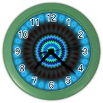 KaleidoFlower-208768 Color Wall Clock