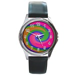 Magic_Colors_Twist_Soft-137298 Round Metal Watch