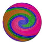 Magic_Colors_Twist_Soft-137298 Round Mousepad