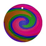 Magic_Colors_Twist_Soft-137298 Ornament (Round)