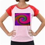 Magic_Colors_Twist_Soft-137298 Women s Cap Sleeve T-Shirt