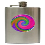 Magic_Colors_Twist_Soft-137298 Hip Flask (6 oz)