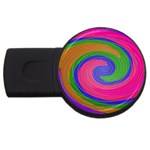 Magic_Colors_Twist_Soft-137298 USB Flash Drive Round (2 GB)
