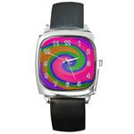 Magic_Colors_Twist_Soft-137298 Square Metal Watch