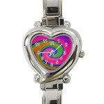 Magic_Colors_Twist_Soft-137298 Heart Italian Charm Watch