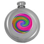 Magic_Colors_Twist_Soft-137298 Hip Flask (5 oz)