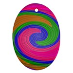 Magic_Colors_Twist_Soft-137298 Oval Ornament (Two Sides)