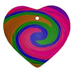 Magic_Colors_Twist_Soft-137298 Heart Ornament (Two Sides)