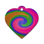 Magic_Colors_Twist_Soft-137298 Dog Tag Heart (Two Sides)