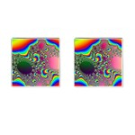 rainbow_xct1-506376 Cufflinks (Square)