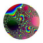 rainbow_xct1-506376 Round Ornament (Two Sides)