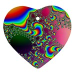 rainbow_xct1-506376 Heart Ornament (Two Sides)